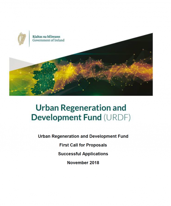 Urban Regeneration and Development Fund projects approved under the 1st round