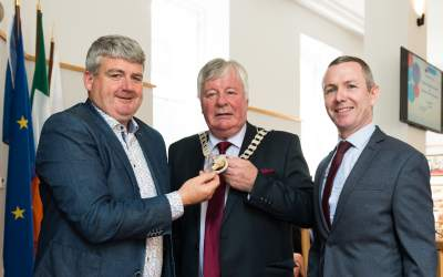 Cllr. Joe Carroll is elected as Assembly Cathaoirleach