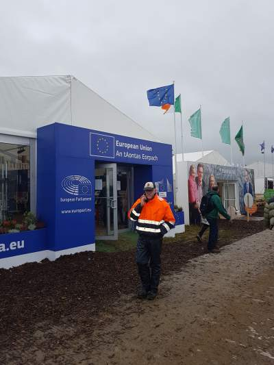 European Union tent at #Ploughing17