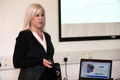 Ms. Leona O Brien UCC, speaker at When Science Met Business,8th June 2018