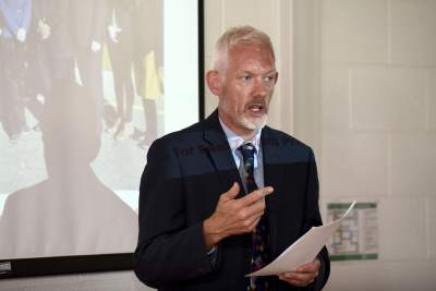 Dr.Richard Hayes, VP of Strategy WIT , Addressing the attendees at When Science met Business,8th June 2018