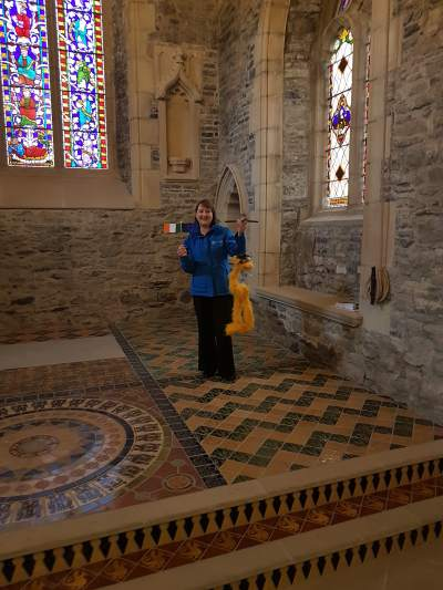 Noah the EU Project Lover visits Swords Castle
