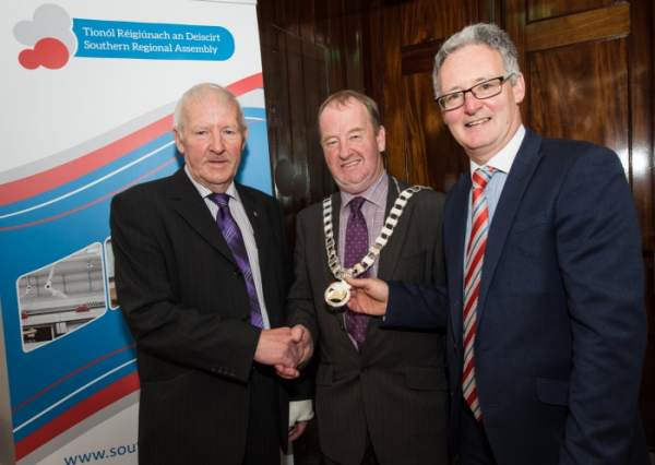 Homepage feature - Cllr John Brennan elected as Cathaoirleach of the Southern Regional Assembly