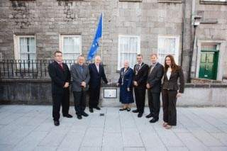 The ERDF co-funds upgrade works to John's Square Limerick