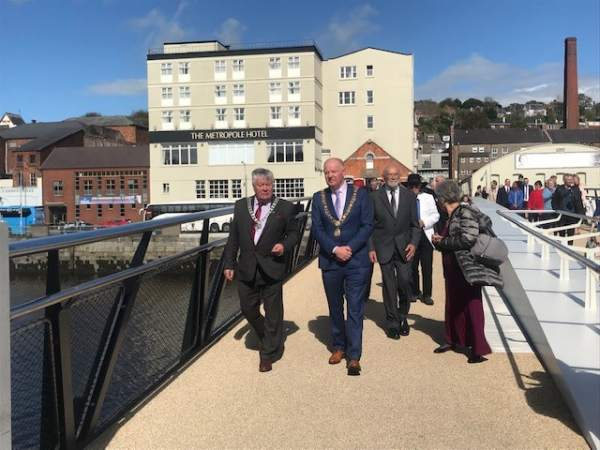 Regional Programme Co-funded Mary Elmes Bridge Officially Opened