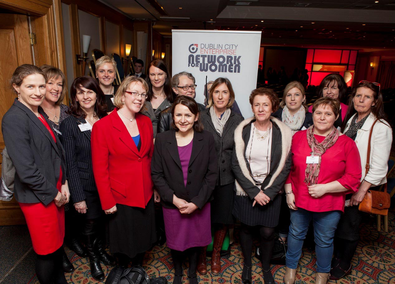 Members of Dublin City Enterprise Network for Women Event.