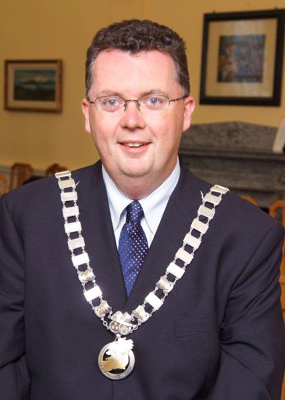 Cllr. Conal Kavanagh, Cathaoirleach S&E Regional Assembly 2007-2008