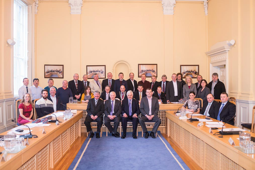 Members and Staff of the Southern Regional Assembly - 9th January 2015