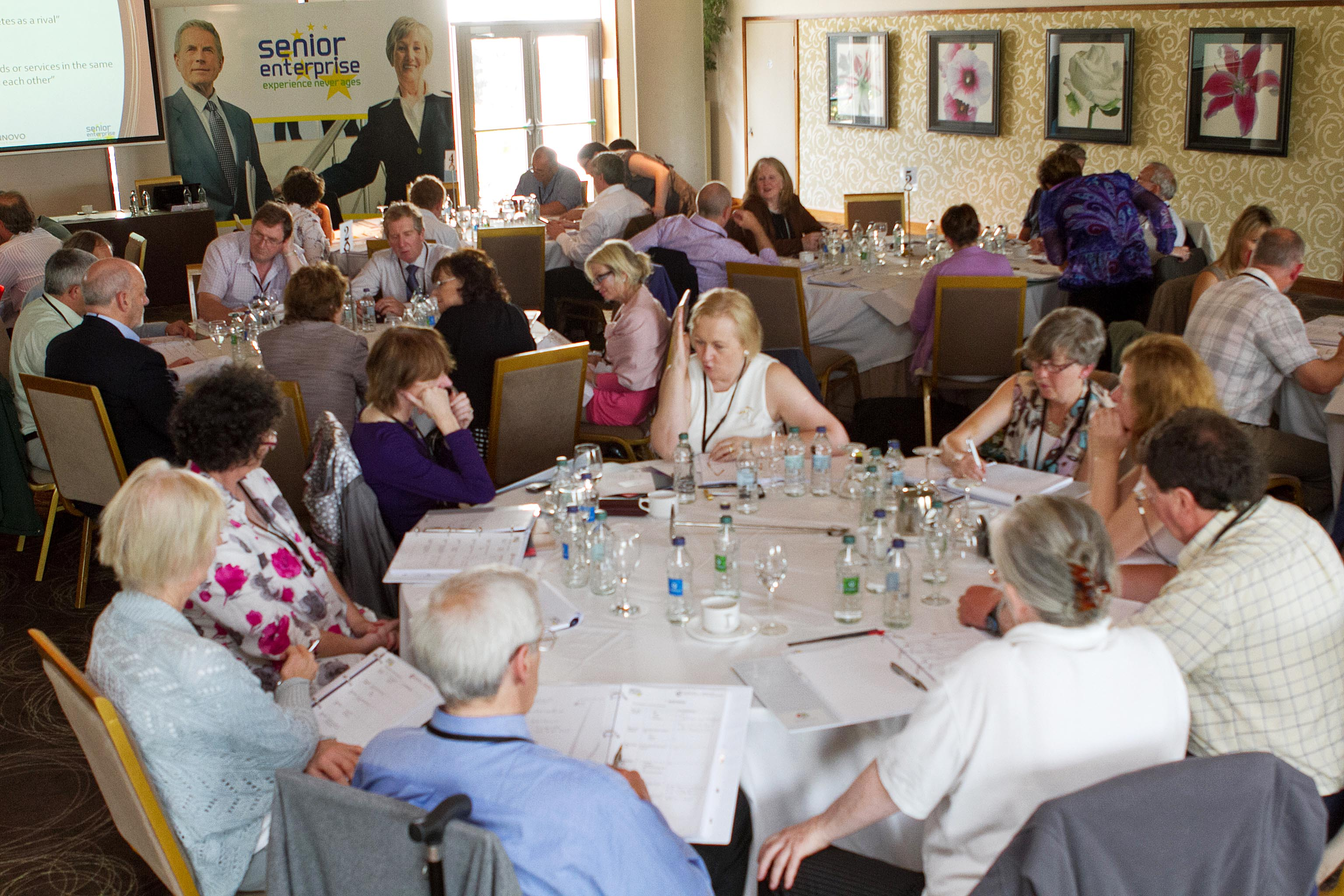 Delegates attending the Senior Enterprise Workshop, Killeshin Hotel, Portlaoise, June 2012