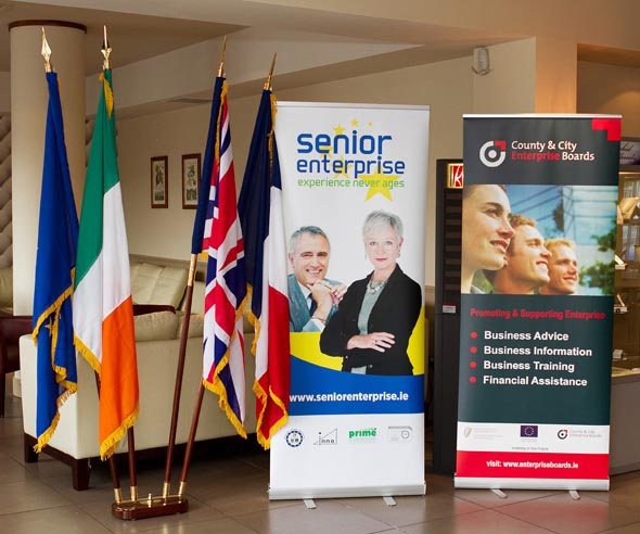 Display at the Senior Enterprise Workshop held in the Killeshin Hotel, Portlaoise June 2012.