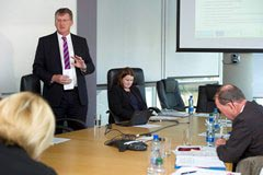 Visit of Commissioner Crețu to Trinity College Dublin; Mr. Gred Swift, Head of Enterprise, Dublin LEO