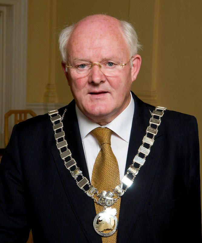 Cllr. James Holloway, Cathaoirleach S&E Regional Assembly  2008-2009