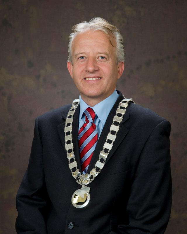 Cllr. John Ryan, Cathaoirleach S&E Regional Assembly2010-2011