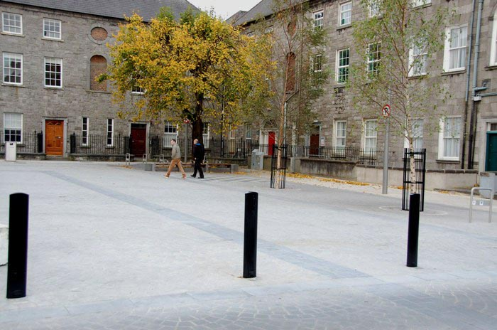 Public Realm Enhancement Scheme, John's Square, Limerick City Council, an ERDF Gateways Scheme