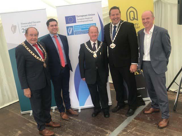 Kilkenny Abbey Quarter Launch 2, July 2019