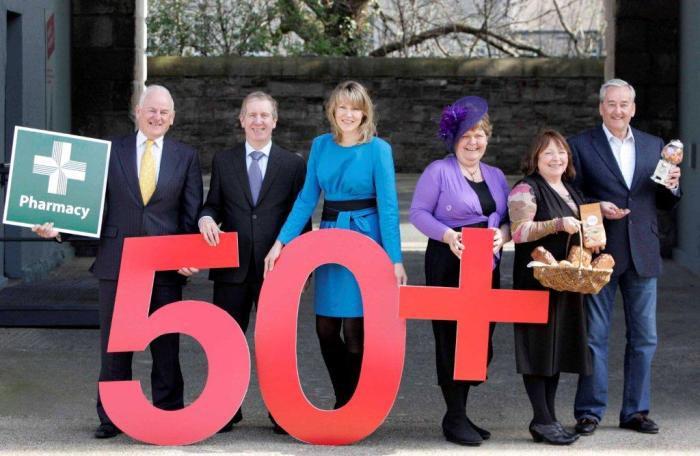National 50+ Damien Carolan,Entrepreneur;John Byrne,MERA;Sheelagh Daly,C&CEB;Jean Condron,Entrepreneur;Cathy Whitty,Entrepreneur;Peter Cullen,Entrepreneur