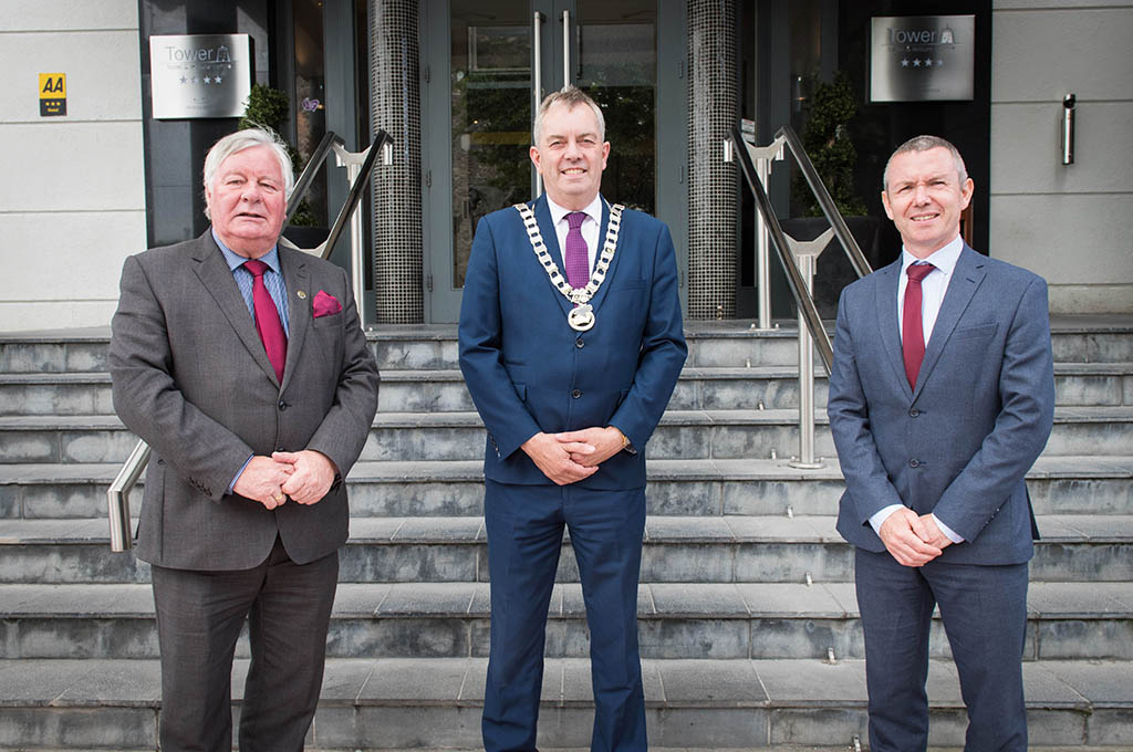 Cllr. John Sheahan is elected as Assembly Cathaoirleach
