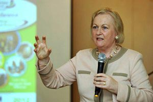 Ms. Paula Fitzsimons, Fitzsimons Consulting speaking at the Annual Conference 2012