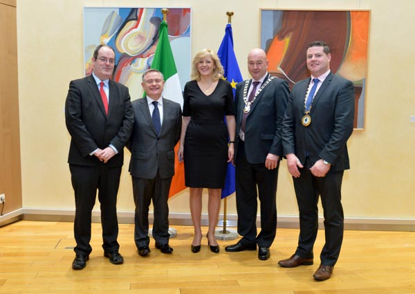 Left to Right: Jim Conway, Director, Eastern and Midland Regional Assembly; Stephen Blair, Director, Southern Regional Assembly; Cllr. Gerry Horkan, Cathaoirleach, Eastern and Midland Regional Assembl