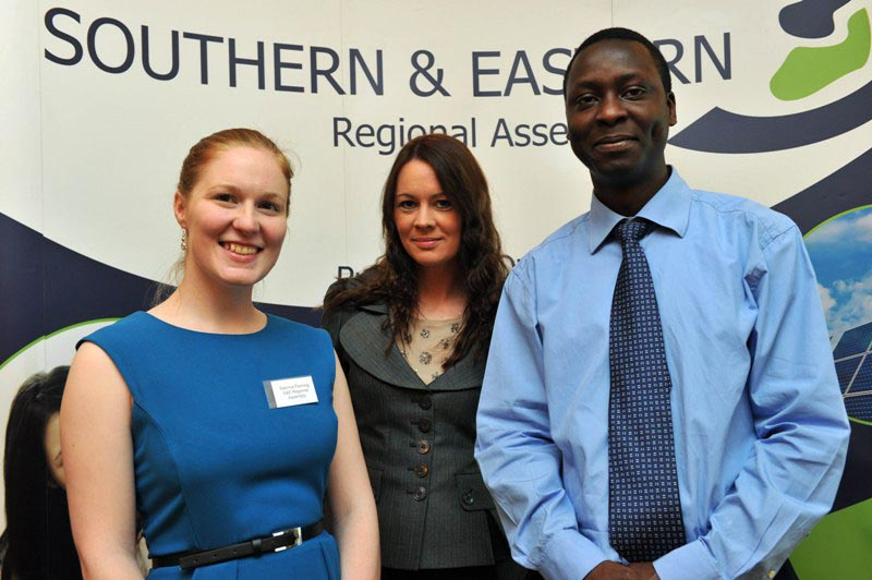 Staff of the S&E Regional Assembly at the  2012 Annual Event