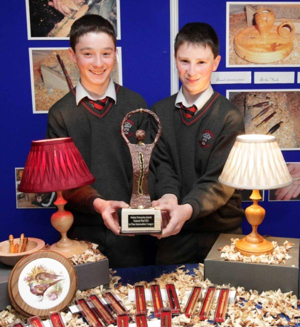 Schools Programme Intermediate Category Winners James and Sean Power