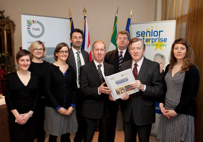 The Senior Enterprise Project held a Senior Entrepreneur Residential Workshop in Portlaoise, November 2012