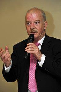 Cllr. Tomás Breathnach, Cathaoirleach, S&E Regional Assembly 2011-2012