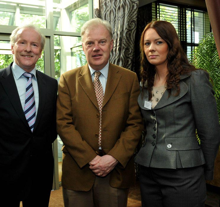 Vincent Reynolds, Chairman, CEB Network, Gerry Finn, Director, BMW Regional Assembly & Sharon Crotty, Programme Executive at the S&E Regional Assembly at the  2012 Annual Event