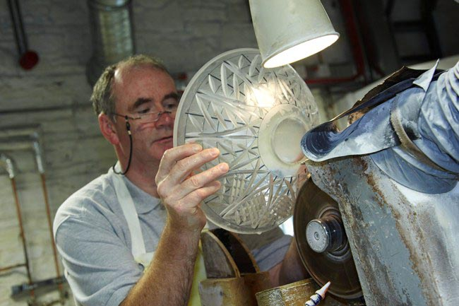 ERDF Gateway scheme Waterford Crystal Master Cutter