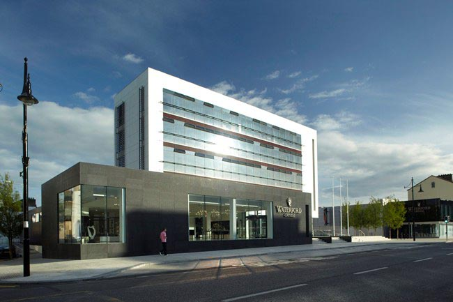 ERDF Gateway scheme Waterford Crystal Exterior.