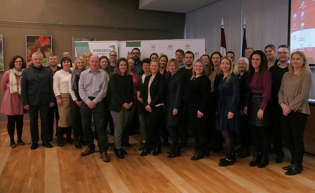 FIRESPOL Interregional Study Visit to Latvia