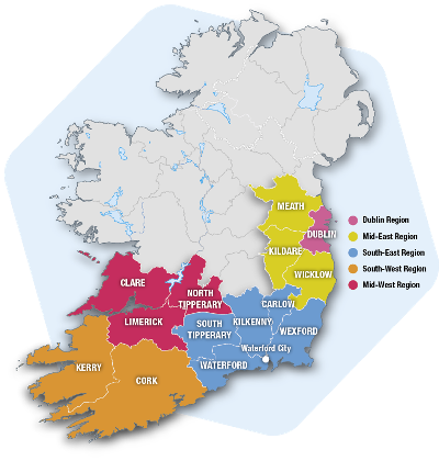 The S&E Regional Operational Programme 2014-2020 Area