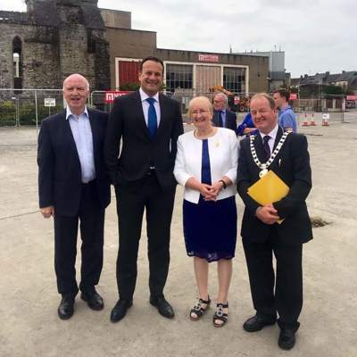 Kilkenny Abbey Quarter Launch, July 2019