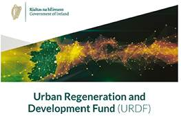Urban Regeneration Development Fund (URDF) announcement from the Department of Housing, Local Government and Heritage.