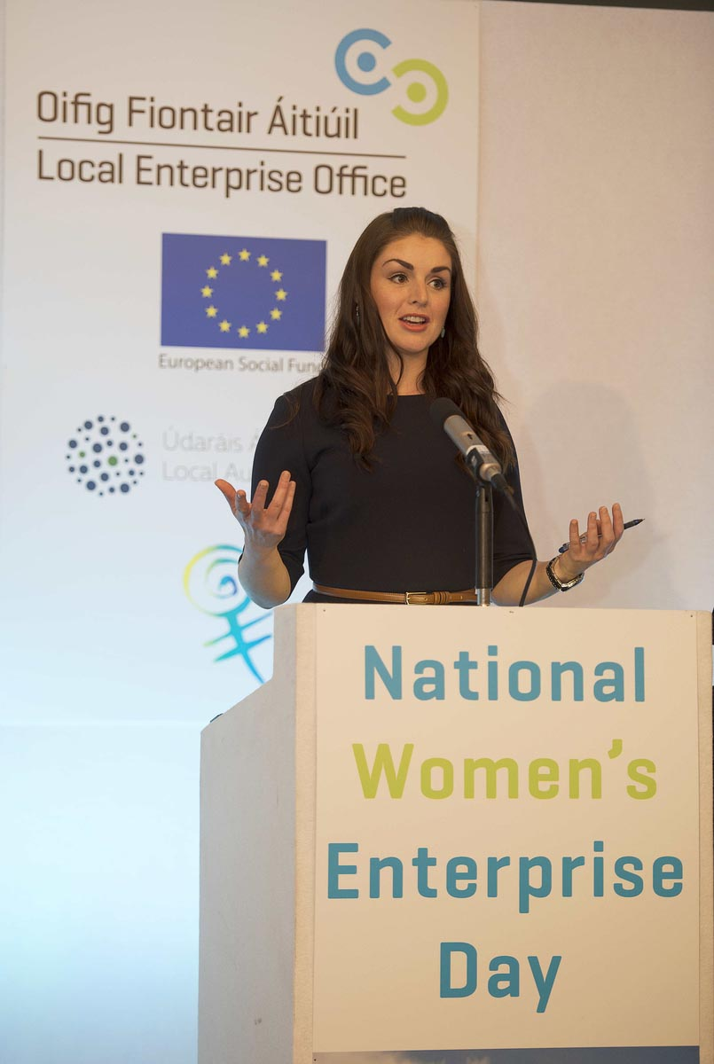 TV and Radio Broadcaster – Sile Seoige was Conference Facilitator for National Women Enterprise Day 2014.