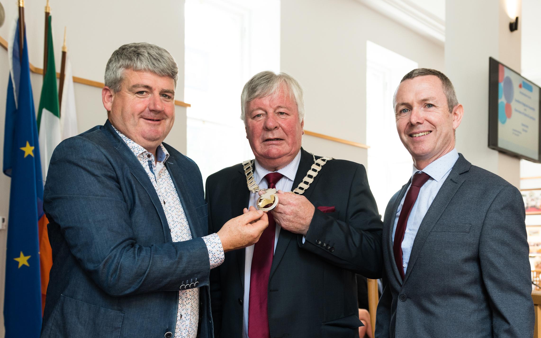 Cllr. Joe Carroll is elected as Assembly Cathaoirleach