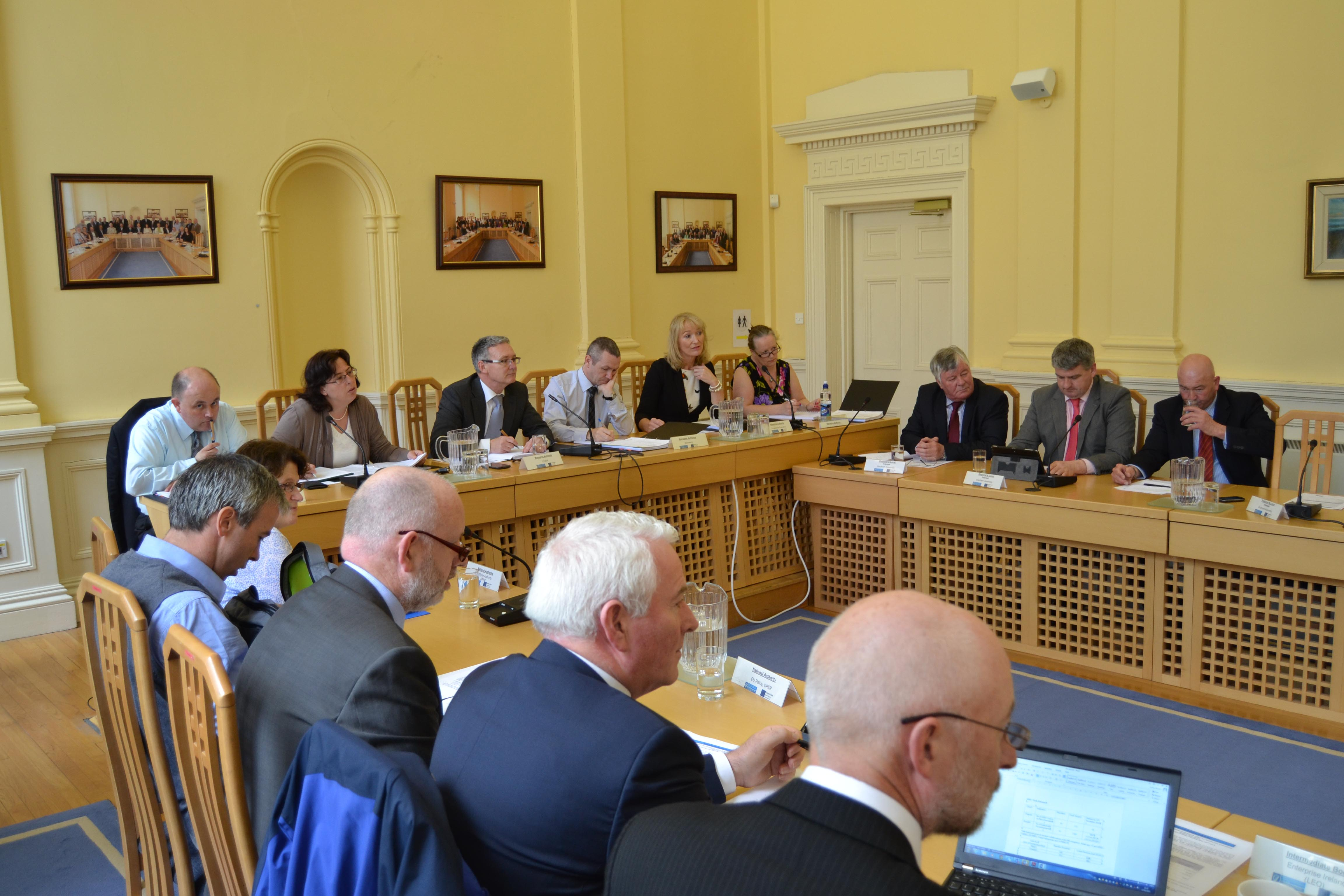 Monitoring Committee Meeting. Assembly House, Waterford.