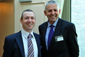 David Kelly, Asst. Director and Cllr. Kevin Murphy, Cork Co. Co.