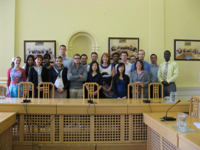 Students from the Graduate School of Management of Brittany (ESC Bretagne Brest)