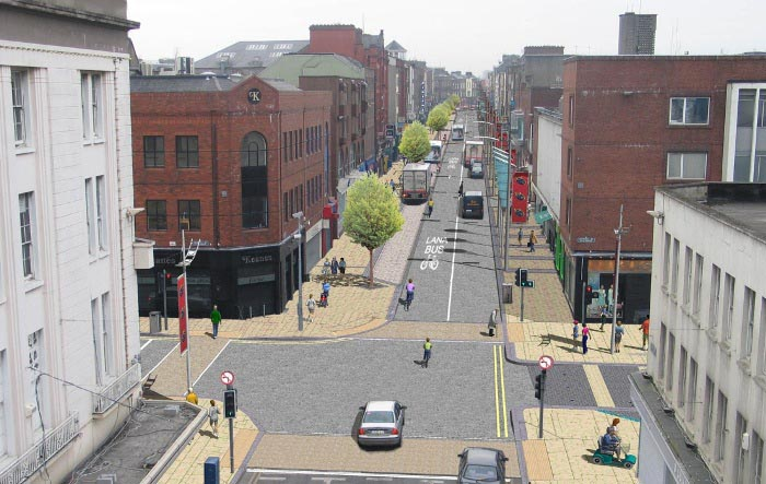 Limerick City Centre Re-modelling of Streets & Public Spaces William Strees / Upper William Street & Sarsfield Street