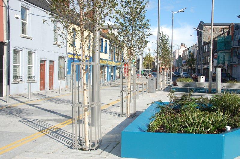Public Realm Enhancement Works at William Street, Limerick, ERDF Gateway Scheme