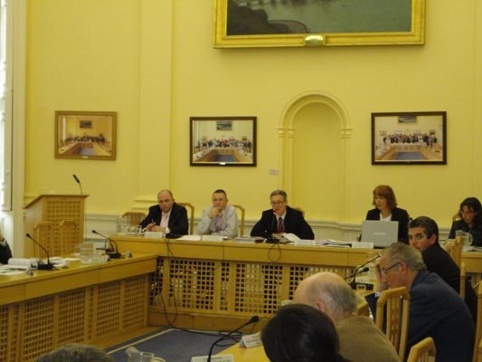 Monitoring Committee held in Assembly House May 2011.