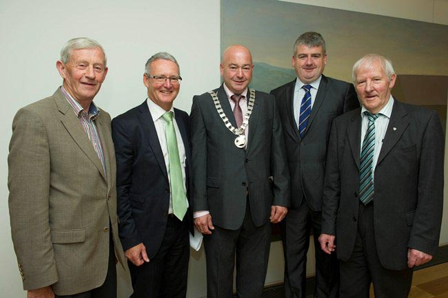Attending the Launch Event of the Southern and Eastern Regional Operational Programme 2014-2020 in Wexford County Hall on Friday 3rd July 2015.