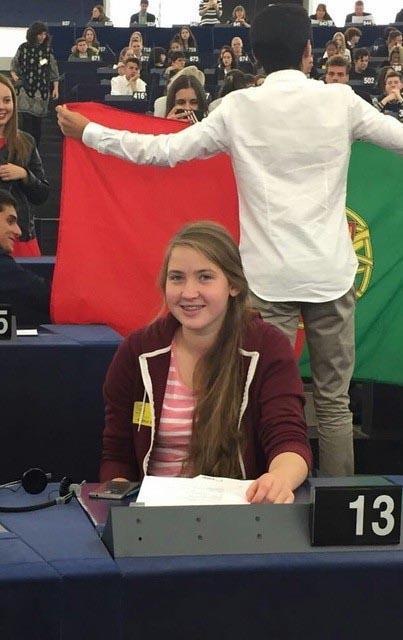 Miss Caitriona Brady Halmschlag, Winner 2016 of the Graduate Quiz.