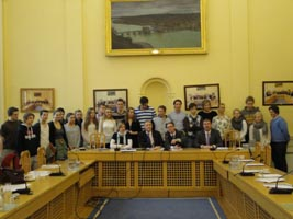 Student delegation from Norway including the Ambassador of Norway visited the Southern & Eastern Regional Assembly, March 2011.