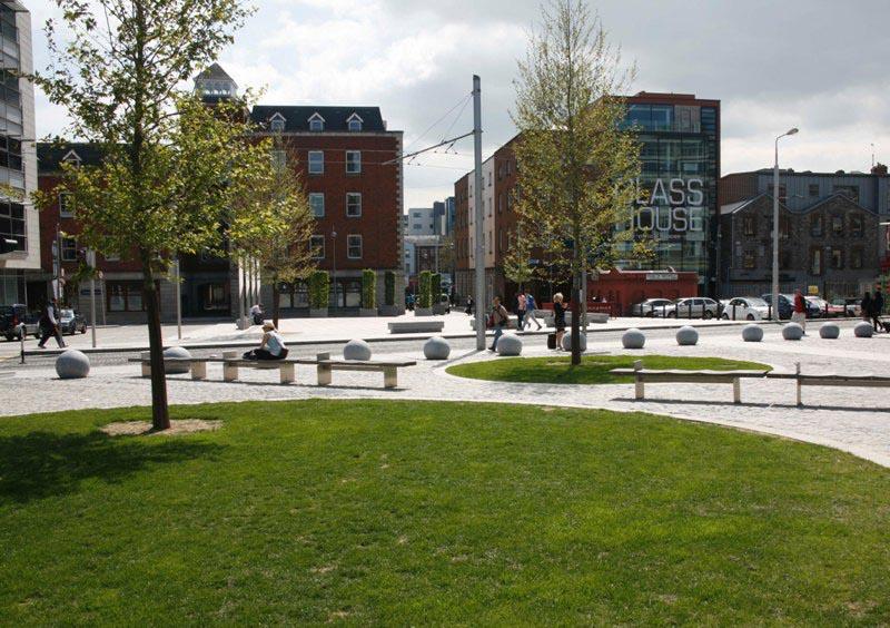 Smithfield Enhancement Scheme, Dublin City Council, funded under the ERDF Gateways Scheme